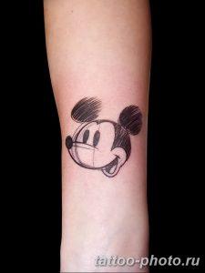 Фото рисунка Тату Микки Маус 20.11.2018 №069 - Tattoo Mickey Mouse - tattoo-photo.ru