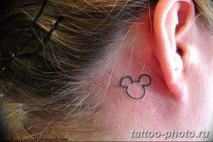 Фото рисунка Тату Микки Маус 20.11.2018 №094 - Tattoo Mickey Mouse - tattoo-photo.ru