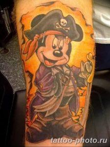 Фото рисунка Тату Микки Маус 20.11.2018 №110 - Tattoo Mickey Mouse - tattoo-photo.ru