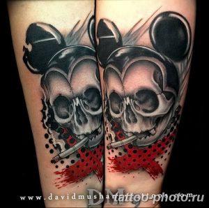Фото рисунка Тату Микки Маус 20.11.2018 №140 - Tattoo Mickey Mouse - tattoo-photo.ru