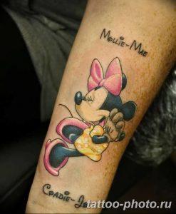 Фото рисунка Тату Микки Маус 20.11.2018 №164 - Tattoo Mickey Mouse - tattoo-photo.ru
