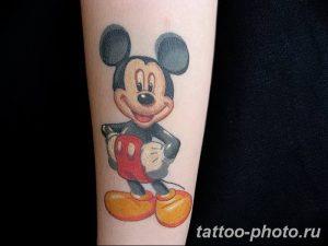 Фото рисунка Тату Микки Маус 20.11.2018 №189 - Tattoo Mickey Mouse - tattoo-photo.ru