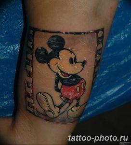 Фото рисунка Тату Микки Маус 20.11.2018 №194 - Tattoo Mickey Mouse - tattoo-photo.ru
