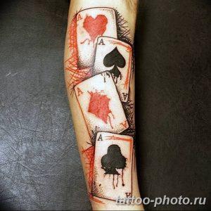 Фото рисунка Тату туз пиковый 20.11.2018 №025 - Tattoo ace of spades - tattoo-photo.ru