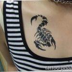 Фото рисунка скорпион 24.11.2018 №014 - photo tattoo scorpion - tattoo-photo.ru
