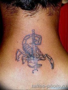Фото рисунка скорпион 24.11.2018 №176 - photo tattoo scorpion - tattoo-photo.ru