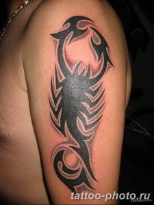 Фото рисунка скорпион 24.11.2018 №232 - photo tattoo scorpion - tattoo-photo.ru