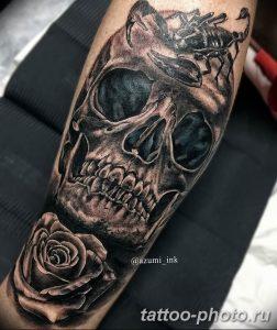 Фото рисунка скорпион 24.11.2018 №243 - photo tattoo scorpion - tattoo-photo.ru