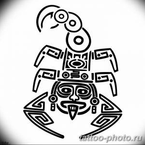 Фото рисунка скорпион 24.11.2018 №248 - photo tattoo scorpion - tattoo-photo.ru