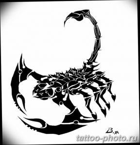 Фото рисунка скорпион 24.11.2018 №255 - photo tattoo scorpion - tattoo-photo.ru