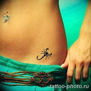 Фото рисунка скорпион 24.11.2018 №271 - photo tattoo scorpion - tattoo-photo.ru