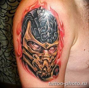 Фото рисунка скорпион 24.11.2018 №291 - photo tattoo scorpion - tattoo-photo.ru