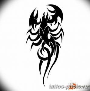 Фото рисунка скорпион 24.11.2018 №292 - photo tattoo scorpion - tattoo-photo.ru