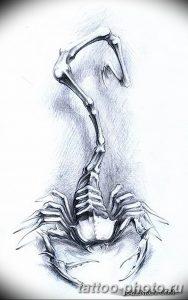 Фото рисунка скорпион 24.11.2018 №304 - photo tattoo scorpion - tattoo-photo.ru
