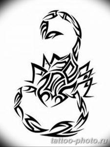 Фото рисунка скорпион 24.11.2018 №311 - photo tattoo scorpion - tattoo-photo.ru