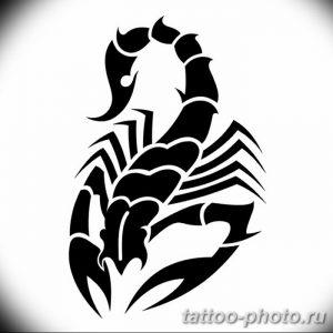Фото рисунка скорпион 24.11.2018 №340 - photo tattoo scorpion - tattoo-photo.ru