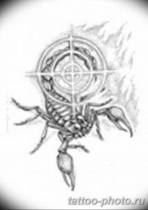 Фото рисунка скорпион 24.11.2018 №368 - photo tattoo scorpion - tattoo-photo.ru