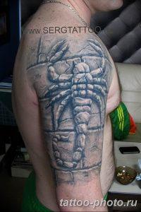 Фото рисунка скорпион 24.11.2018 №420 - photo tattoo scorpion - tattoo-photo.ru