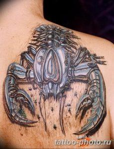 Фото рисунка скорпион 24.11.2018 №480 - photo tattoo scorpion - tattoo-photo.ru