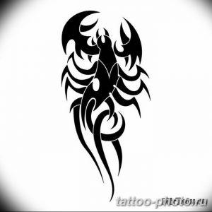 Фото рисунка скорпион 24.11.2018 №495 - photo tattoo scorpion - tattoo-photo.ru