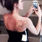 Фото рисунка тату круг 22.11.2018 №011 - photo tattoo circle - tattoo-photo.ru