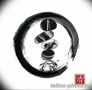 Фото рисунка тату круг 22.11.2018 №154 - photo tattoo circle - tattoo-photo.ru