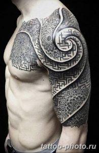 Фото рисунка тату круг 22.11.2018 №280 - photo tattoo circle - tattoo-photo.ru