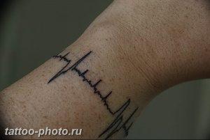 фото рисунка тату пульс 30.11.2018 №112 - photo tattoo pulse - tattoo-photo.ru