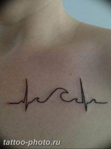 фото рисунка тату пульс 30.11.2018 №115 - photo tattoo pulse - tattoo-photo.ru