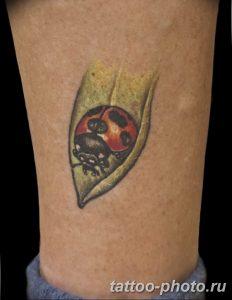 фото идея тату божья коровка 22.12.2018 №145 - photo ladybug tattool- tattoo-photo.ru
