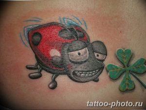 фото идея тату божья коровка 22.12.2018 №150 - photo ladybug tattool- tattoo-photo.ru