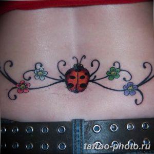 фото идея тату божья коровка 22.12.2018 №167 - photo ladybug tattool- tattoo-photo.ru