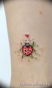 фото идея тату божья коровка 22.12.2018 №173 - photo ladybug tattool- tattoo-photo.ru