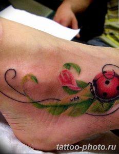 фото идея тату божья коровка 22.12.2018 №188 - photo ladybug tattool- tattoo-photo.ru