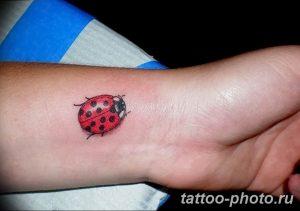 фото идея тату божья коровка 22.12.2018 №209 - photo ladybug tattool- tattoo-photo.ru