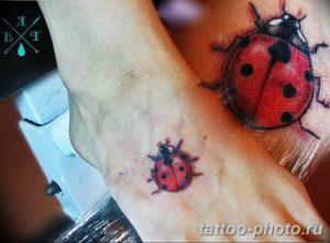 фото идея тату божья коровка 22.12.2018 №210 - photo ladybug tattool- tattoo-photo.ru