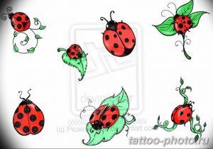 фото идея тату божья коровка 22.12.2018 №227 - photo ladybug tattool- tattoo-photo.ru