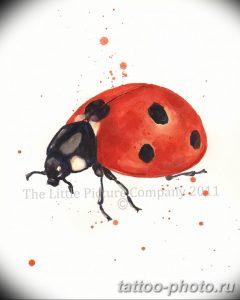 фото идея тату божья коровка 22.12.2018 №347 - photo ladybug tattool- tattoo-photo.ru