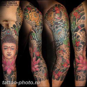 фото рисунка тату буддийские 30.11.2018 №145 - Buddhist tattoo picture - tattoo-photo.ru