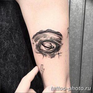 фото тату Сатурн 18.12.2018 №060 - tattoo photo saturn - tattoo-photo.ru