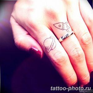 фото тату Сатурн 18.12.2018 №086 - tattoo photo saturn - tattoo-photo.ru
