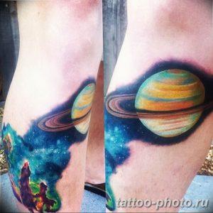 фото тату Сатурн 18.12.2018 №090 - tattoo photo saturn - tattoo-photo.ru