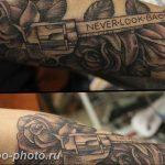 фото тату револьвер 24.12.2018 №125 - photo tattoo revolver - tattoo-photo.ru