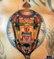 фото тату горящая свеча 20.03.2019 №084 — tattoo burning candle — tattoo-photo.ru