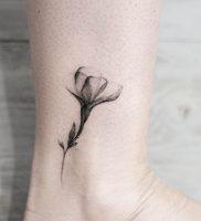 Фото тату цветок колокольчики 15.04.2019 №040 — ideas flower bells tattoo — tattoo-photo.ru