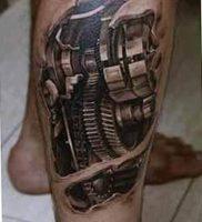 фото вариант биомеханические тату 06.04.2019 №016 — tattoo biomechaniс — tattoo-photo.ru