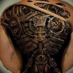 фото идея биомеханические тату 06.04.2019 №004 - tattoo biomechaniс - tattoo-photo.ru