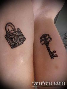 фото тату Ключ 03.05.2019 №106 - tattoo key - tattoo-photo.ru