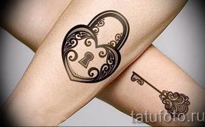 фото тату Ключ 03.05.2019 №126 - tattoo key - tattoo-photo.ru