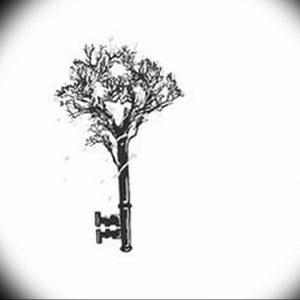 фото тату Ключ 03.05.2019 №131 - tattoo key - tattoo-photo.ru